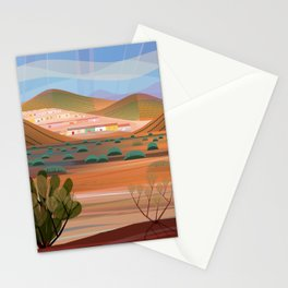 Copper Town (Square) Stationery Cards