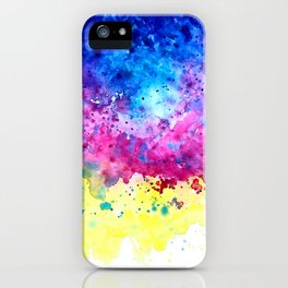 Splatter iPhone Case