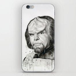 Star Trek: Worf iPhone Skin