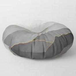 Minimal Landscape 01 Floor Pillow