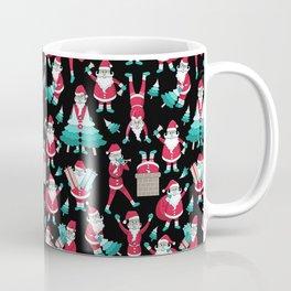 Busy Santas I Coffee Mug