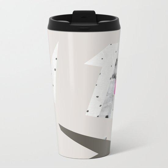 Abstract 08 Metal Travel Mug