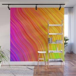 stripes wave pattern 1 stdvi Wall Mural