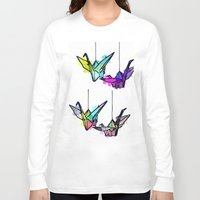 lights Long Sleeve T-shirts featuring Lights by Sofia Gerona