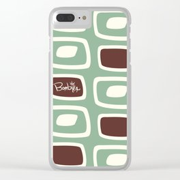 Almond bombilla Clear iPhone Case