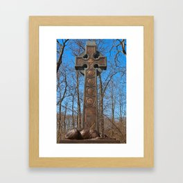 Irish Brigade Monument Framed Art Print