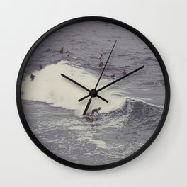 Surf in Arpoador Wall Clock