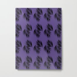 Palm Leaves Pattern #15 #UltraViolet #decor #art #society6 Metal Print