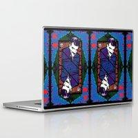 selena gomez Laptop & iPad Skins featuring Gomez. The King Of Hearts. by brett66