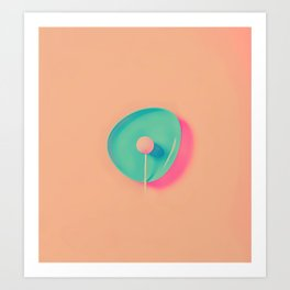 Lollipop Art Print