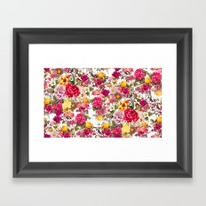 Botanic Pattern Framed Art Print