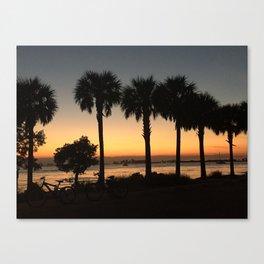 Sunset Shadows Canvas Print