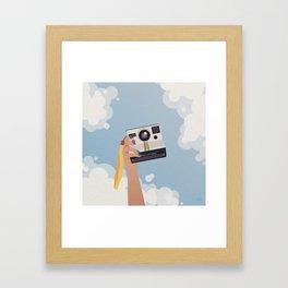 Summer in Focus Framed Art Print