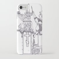christian iPhone & iPod Cases featuring Christian service by Shelby Claire