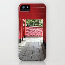 Sanko Inari Shrine Inuyama City, Aichi Prefecture iPhone Case