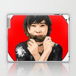 Cute girl in Kimono Laptop & iPad Skin