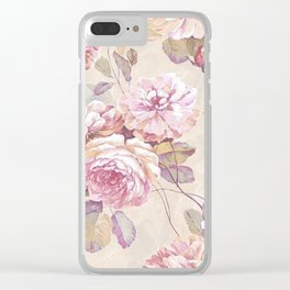 ROSES-221218/1 Clear iPhone Case