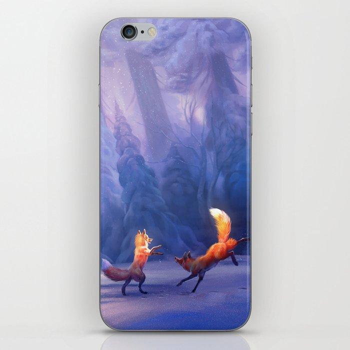 Fox play iPhone Skin