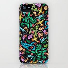 Asian Theme Lucky Genie Lantern Floral Print iPhone Case