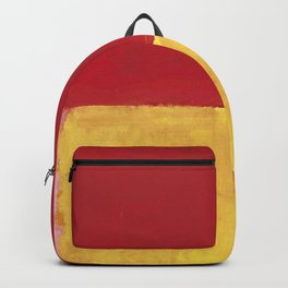 Rothko Red Yellow Untitled Backpack
