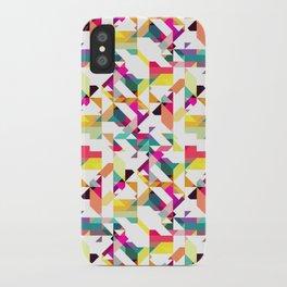 Aztec Geometric IV iPhone Case