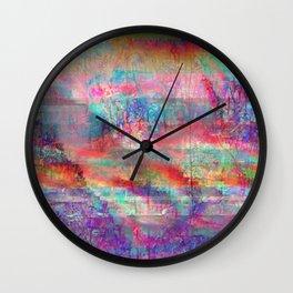 23-18-45 (Acid Rain Bed Glitch) Wall Clock