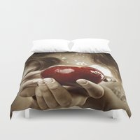 fairy tale Duvet Covers featuring Fairy Tale by Judy Hung