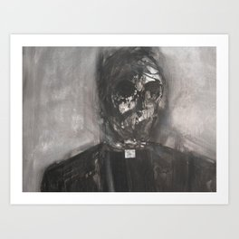 Danger Priest Is What he was Art Print