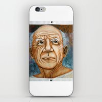 pablo picasso iPhone & iPod Skins featuring Pablo Picasso by Michael Cu Fua