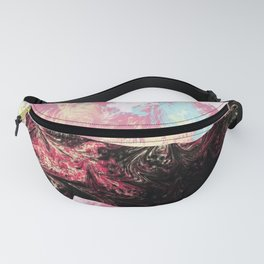 Abstract Cat Fanny Pack
