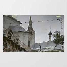 Suzdal, Russia. Church Reflection Rug
