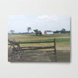 Infirmary at Gettysburg Metal Print