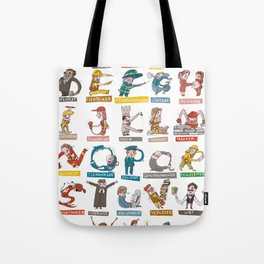 JOB-ABC Tote Bag