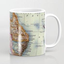 Vintage Map of Australia (1921) Coffee Mug
