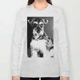 Schnauzer Photo Long Sleeve T-shirt