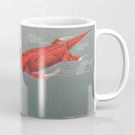 Elasmosaurus Muscle Study Coffee Mug