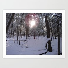 LIGHTSHINETHROUGH Art Print