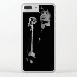 40- Jim Morrison…Doors Clear iPhone Case