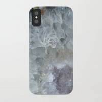 geode iPhone & iPod Cases featuring Agate Geode  by CAROL HU