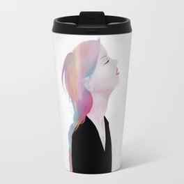 She claimed to be antique roses and lost dreams Travel Mug