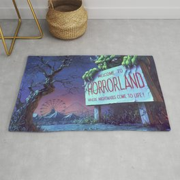 One Day at Horrorland Rug