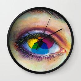Eye of an artist Wall Clock