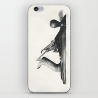 plane iPhone & iPod Skins featuring Plane by Workshop Decor