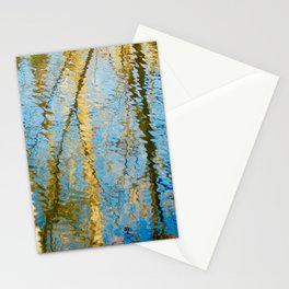 Abstract Reflections Stationery Cards