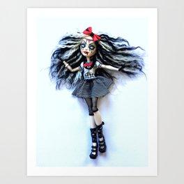 Living dead doll custom Art Print