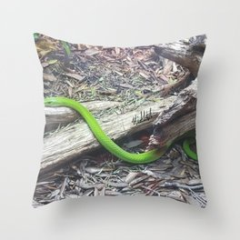 Slither Throw Pillow