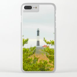 Fire Island lighthouse Photography Art Clear iPhone Case