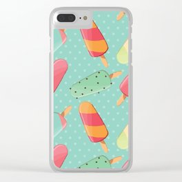 POPSICLE PATTERN Clear iPhone Case