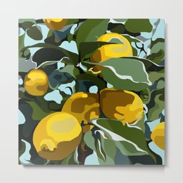 Lemon Branch Metal Print