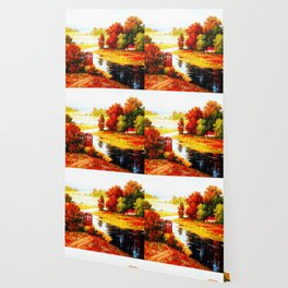 Tardis Lost At The River Wallpaper